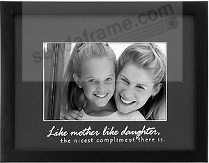 Like Mother Like Daughter Picture Frames Photo