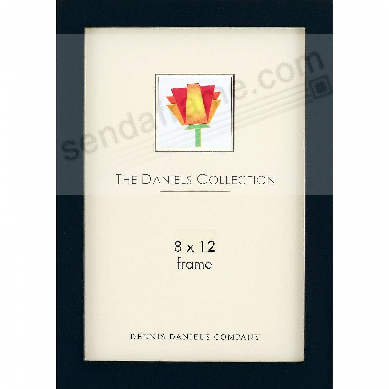 The Original DANIELS W41: Black Square Corner GALLERY WOODS 8x12 by Dennis Daniels®