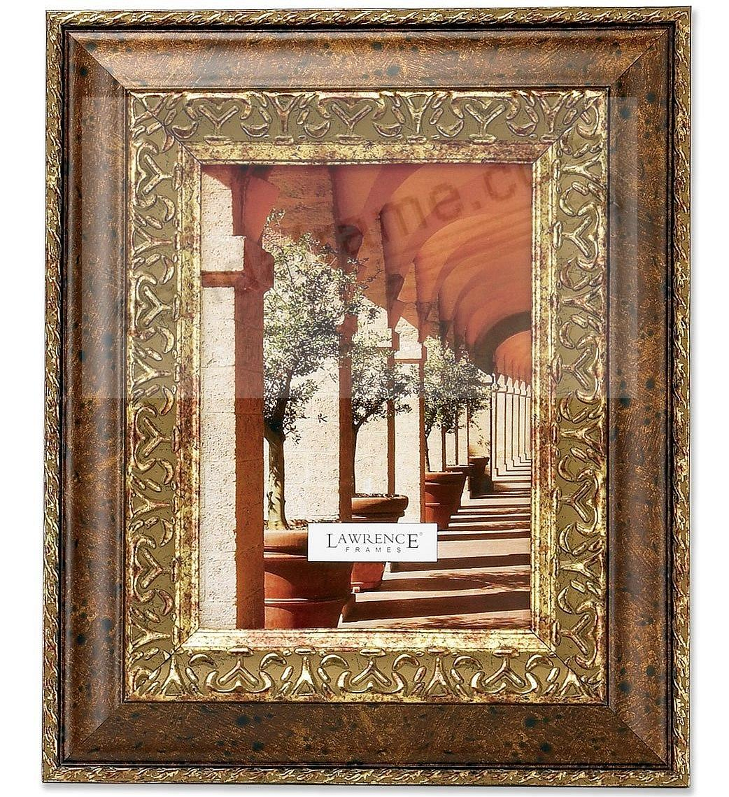 Carved Antique Bronze by Lawrence Frames®