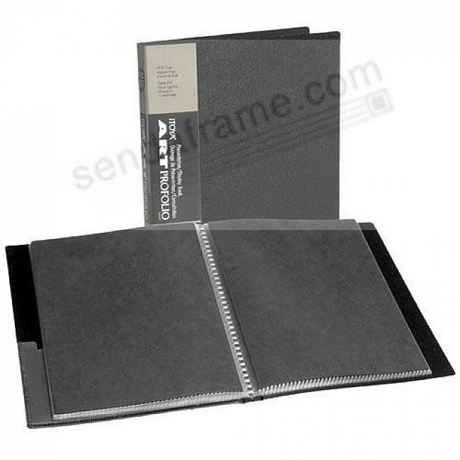 The ORIGINAL Series I PROFOLIO<br>48-Page 8½x11 art & photo album by Itoya®