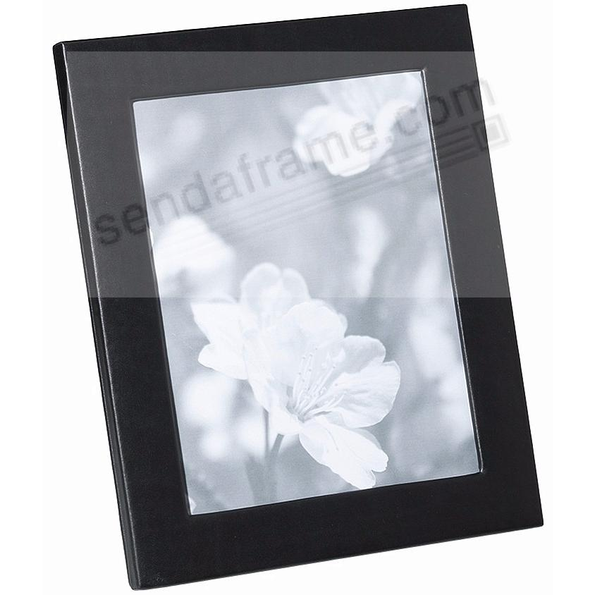 Traditional Black Fine Leather STUDIO Frame<br>by Graphic Image™
