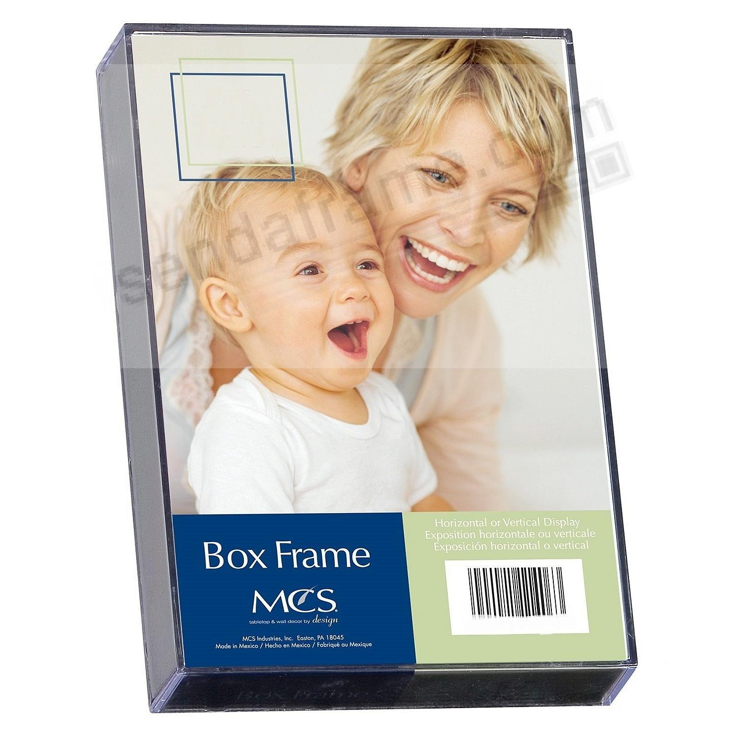The Acrylic BOX frame in 4x6 size