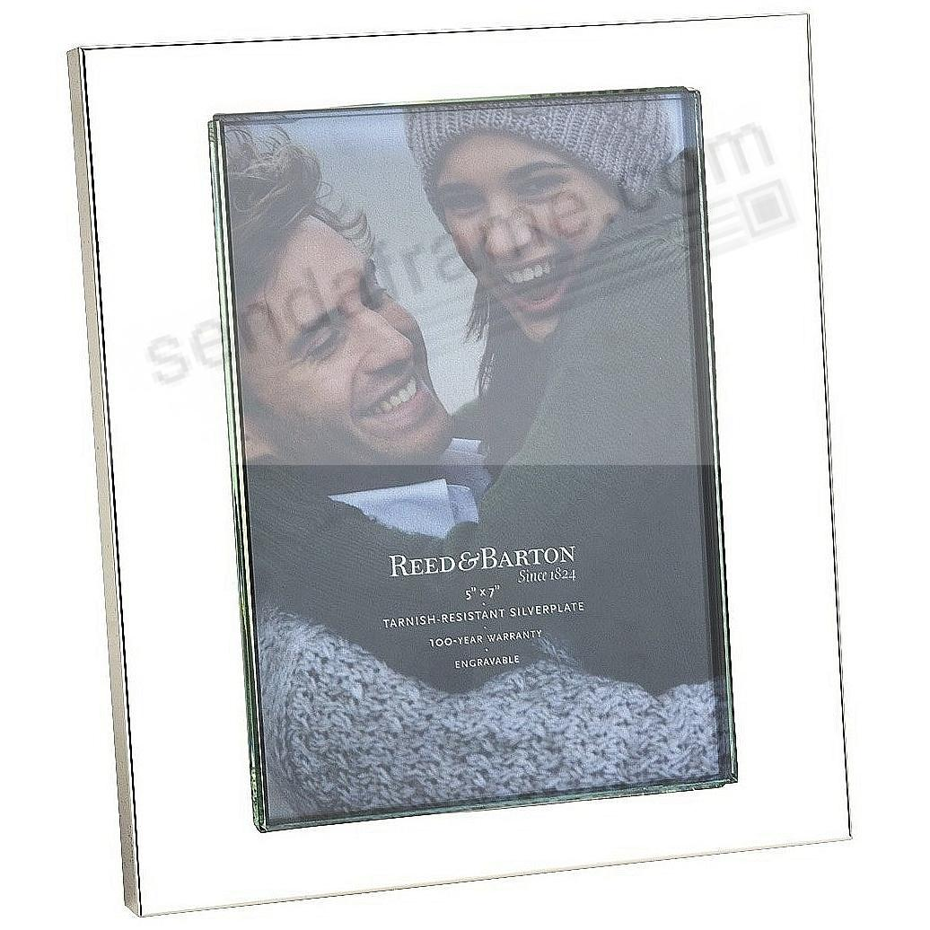 Reed & Barton® fine silverplate ADDISON frame