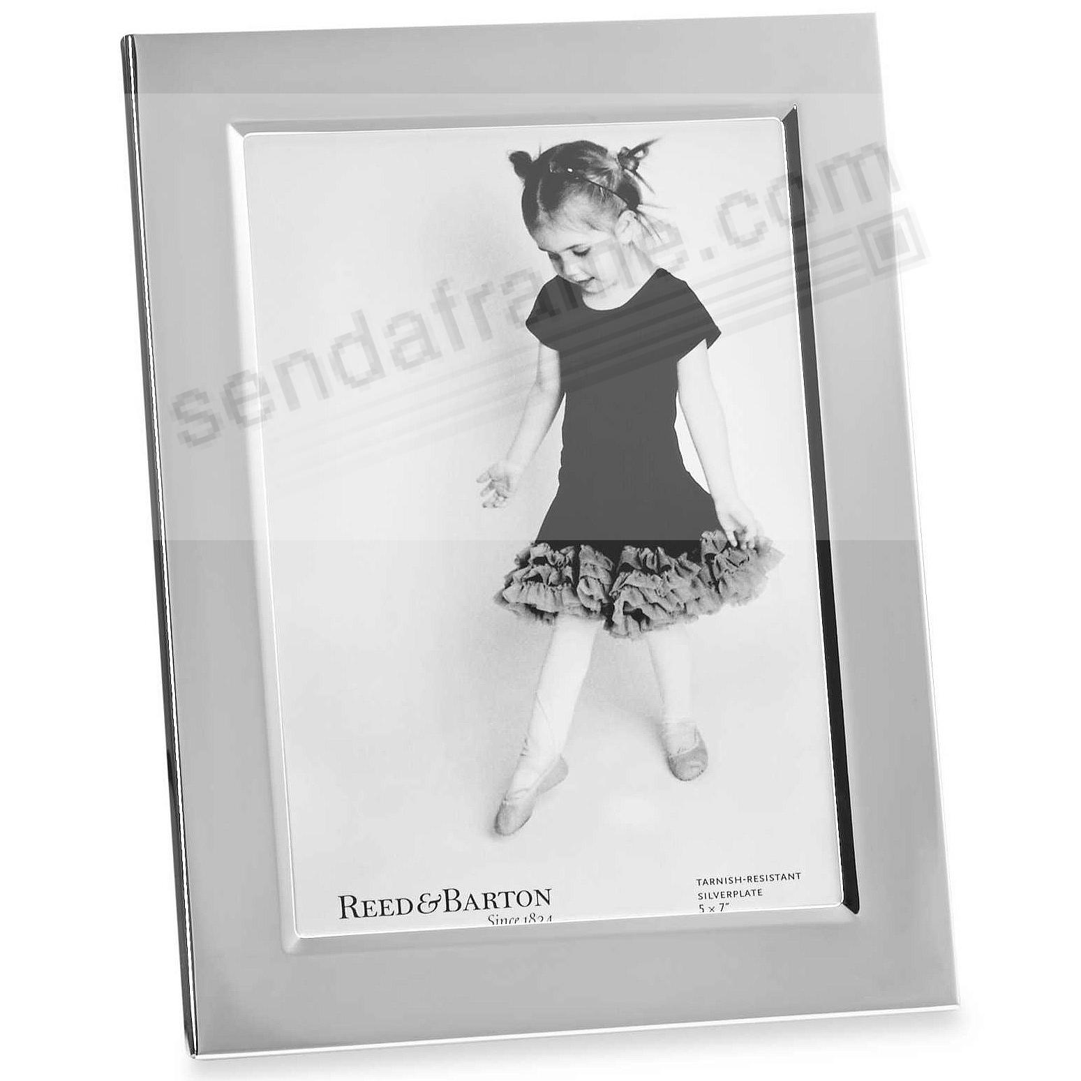 The Original Reed & Barton® Silverplate 5x7 frame - Engraveable