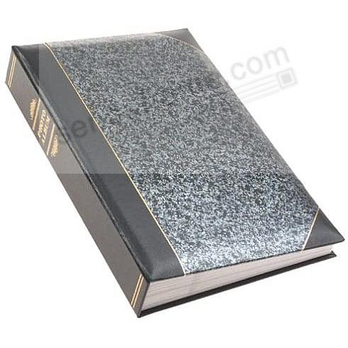 Silver Marble LEDGER 4x6 300 Pocket Lé Memo Album by Pioneer®