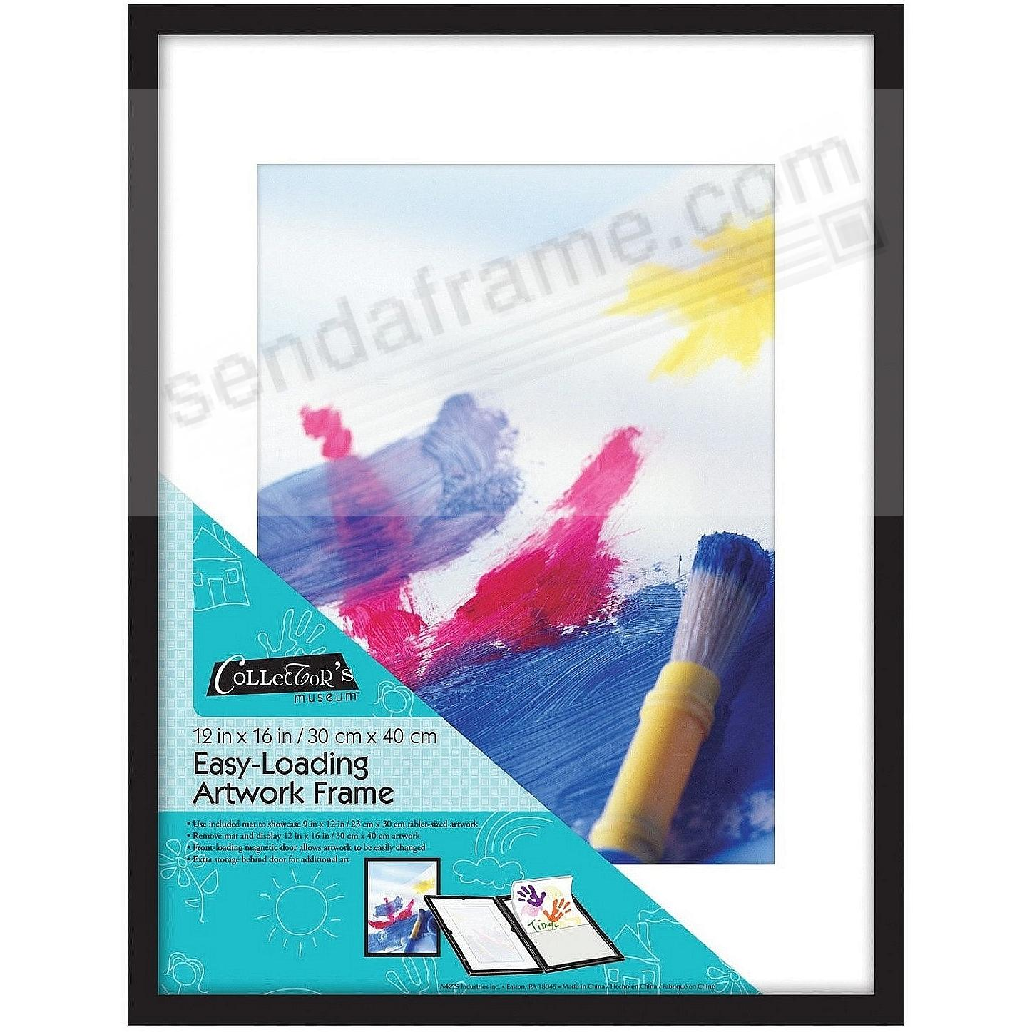 Easy Loading ART FRAME with Front-Loading Magnetic Door 12x16/9x12 ...