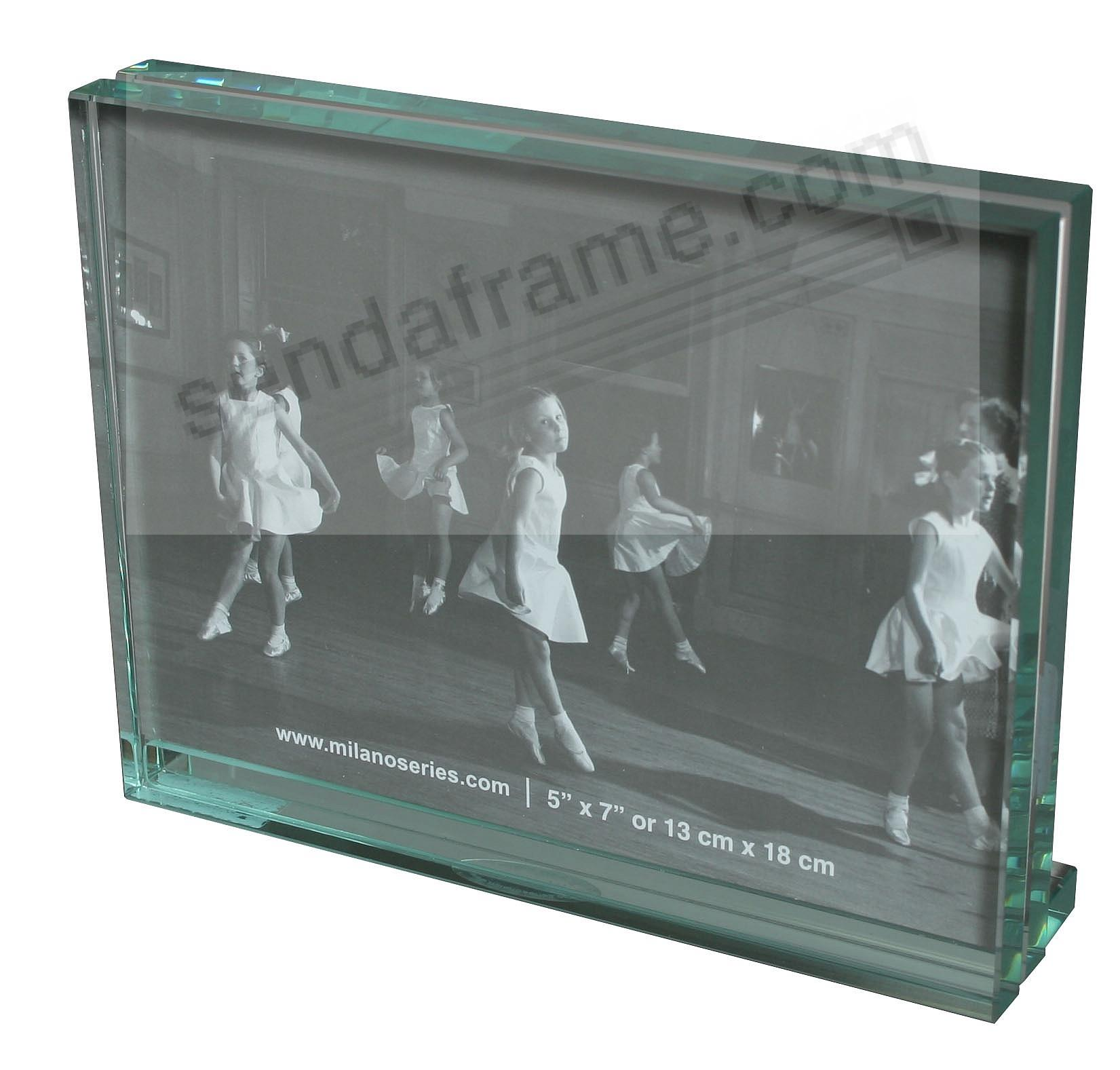Clarity glass block 5x7 frame by milano series picture for Glass block window frame
