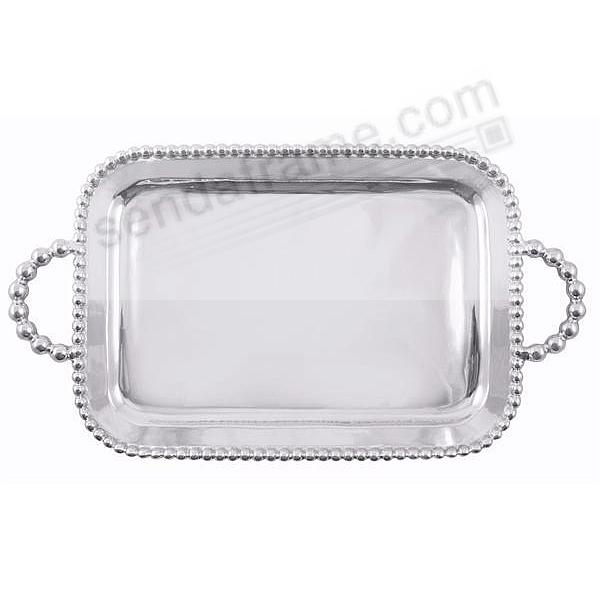 String of Pearls SERVING TRAY (Large) by Mariposa®