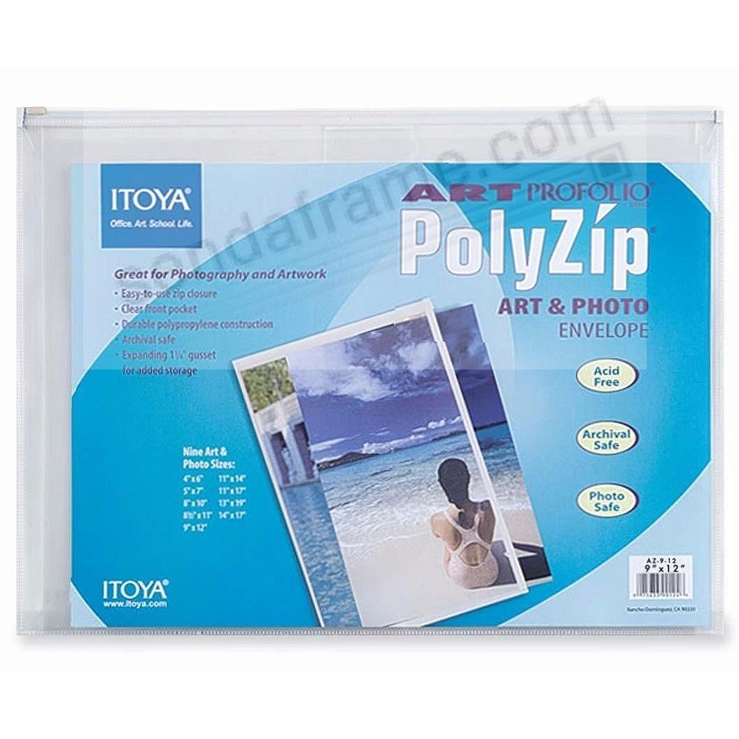 Art Profolio® brand PolyZip™ 12x9 Envelopes by Itoya®