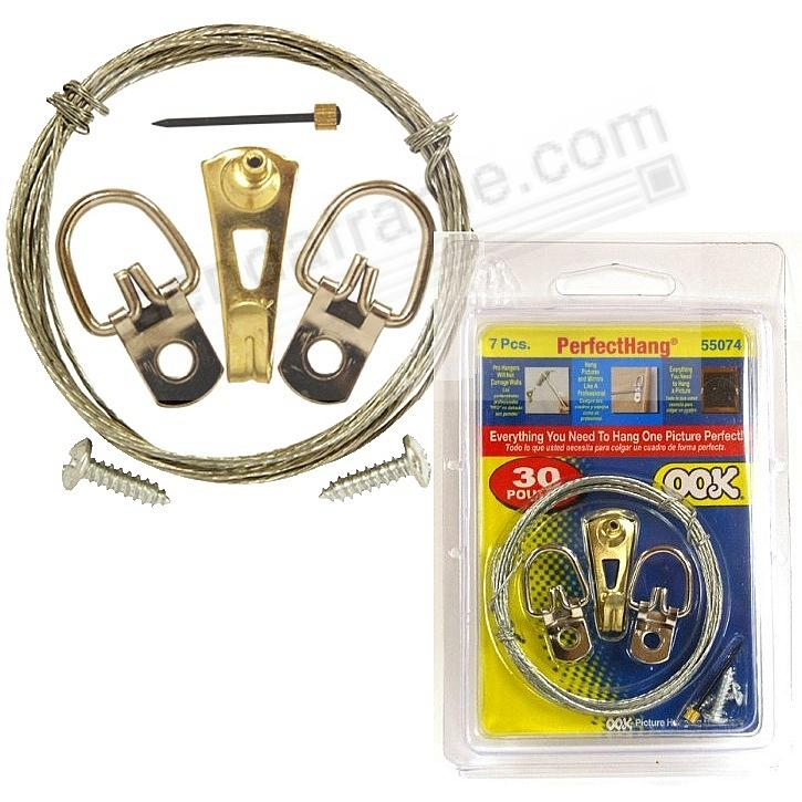 OOK® professional hanging 7 piece value-pack kit for up to 30lbs