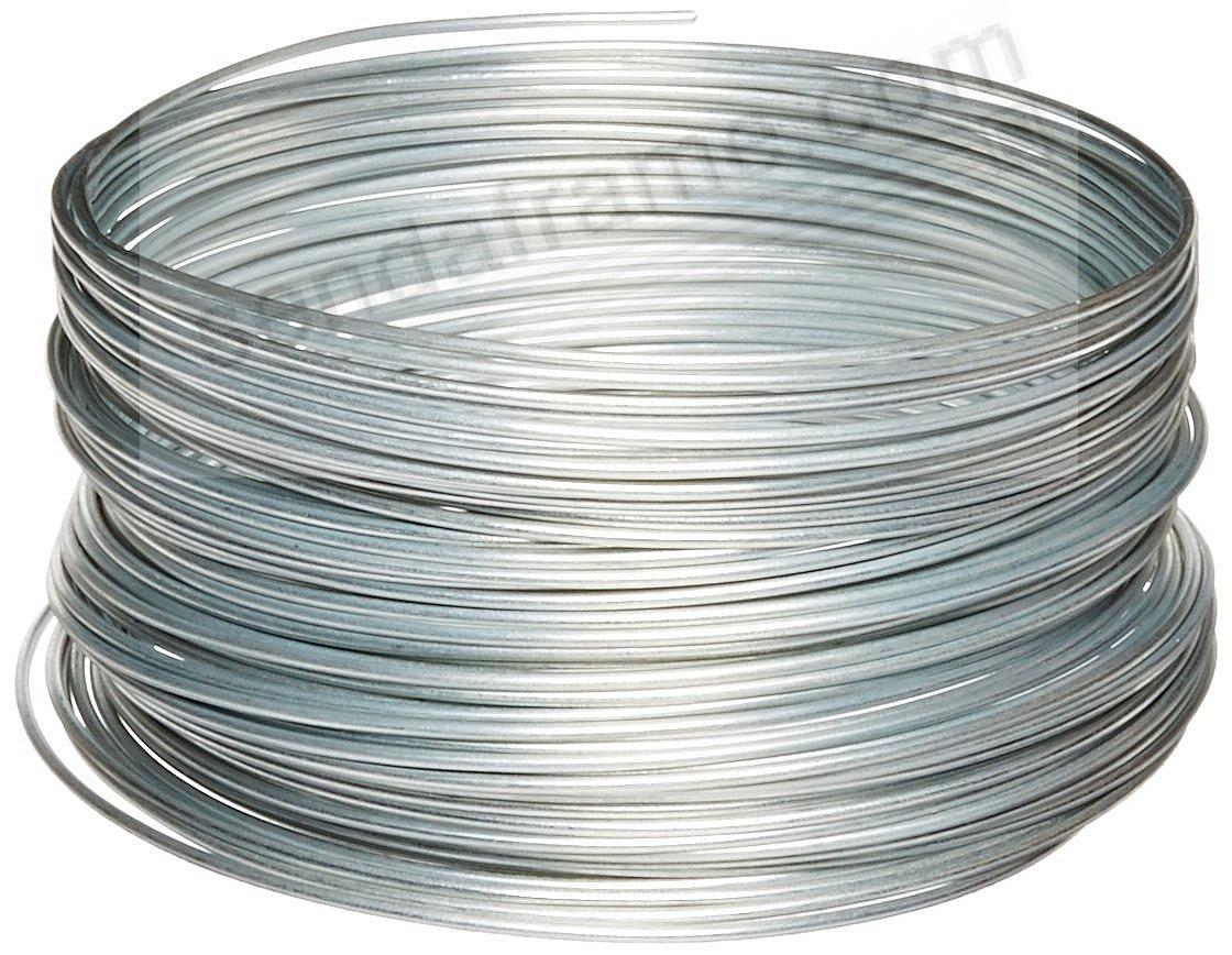 OOK® Galvanized Steel 12-gauge Picture Frame Hanging Wire - 100ft