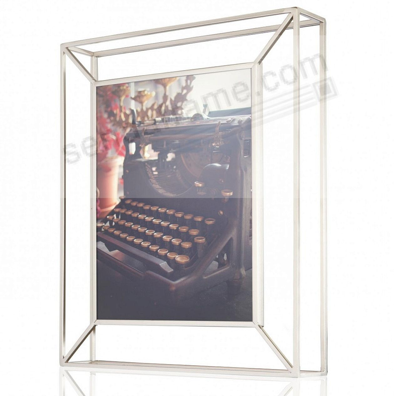 The Original MATRIX Photo Display Nickel 8x10 frame by Umbra®