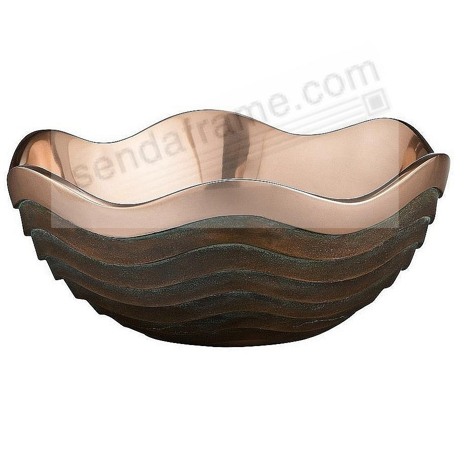 The Original 2½ Quart / 10inch COPPER CANYON BOWL crafted by Nambe®