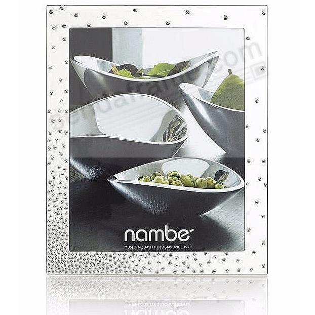 The New DAZZLE modern design 8x10 frame by Nambe'®