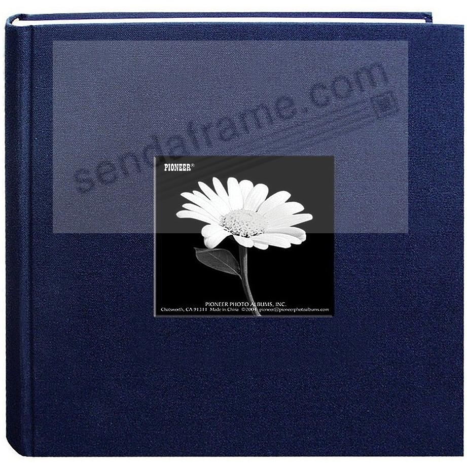 REGAL-NAVY cloth 2-up frame photo album by Pioneer®