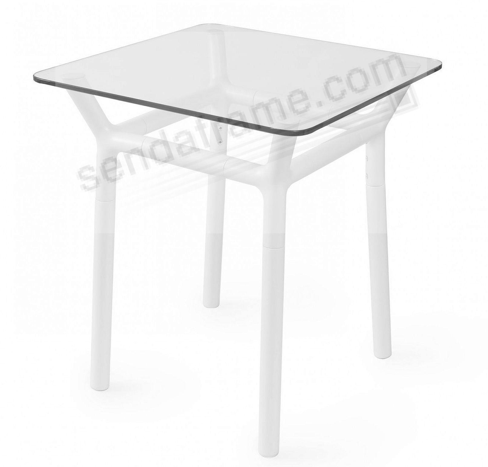 The Original KONNECT White Side Table by Umbra+®