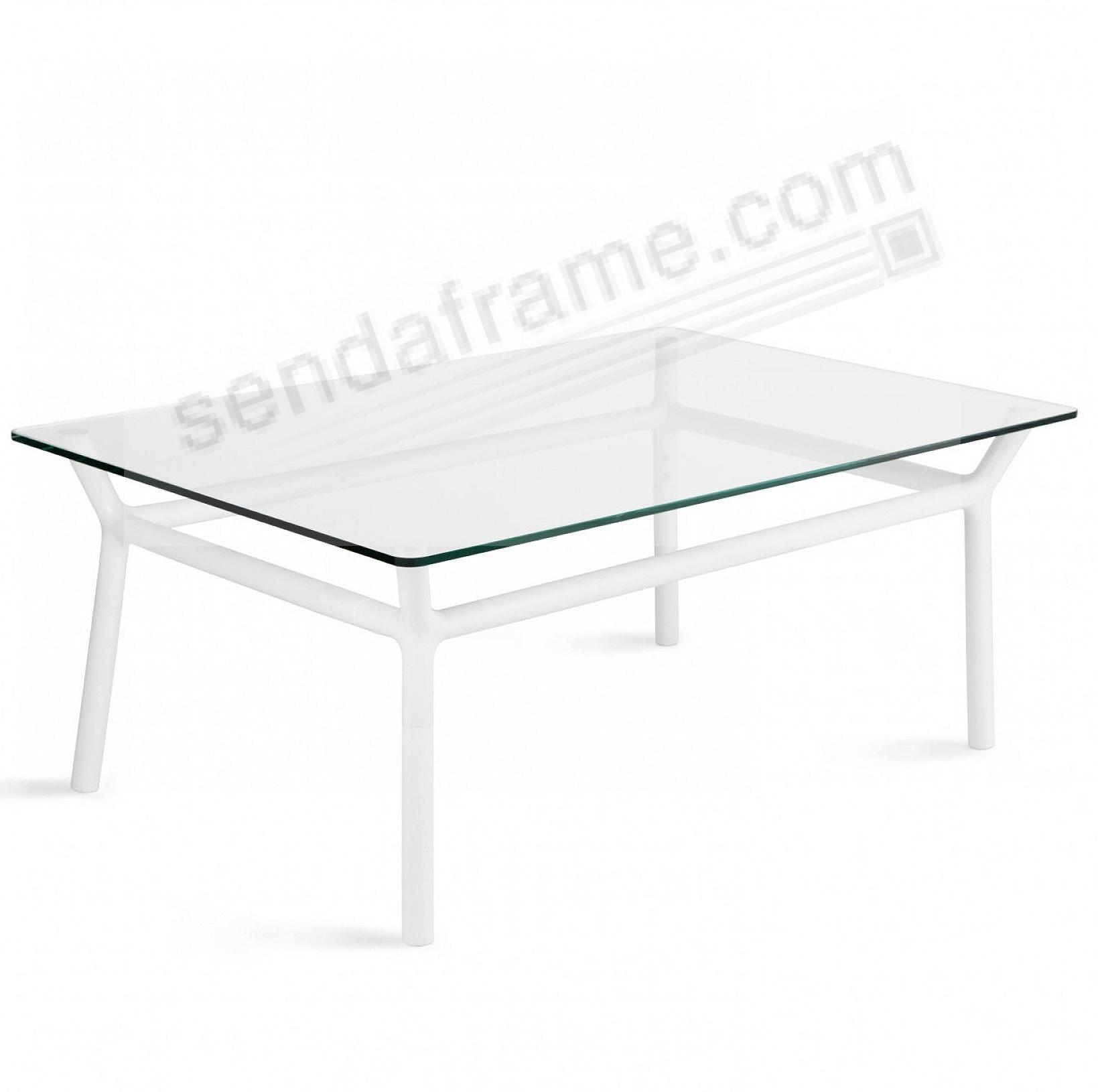 The Original konnect WHITE COFFEE TABLE by Umbra®