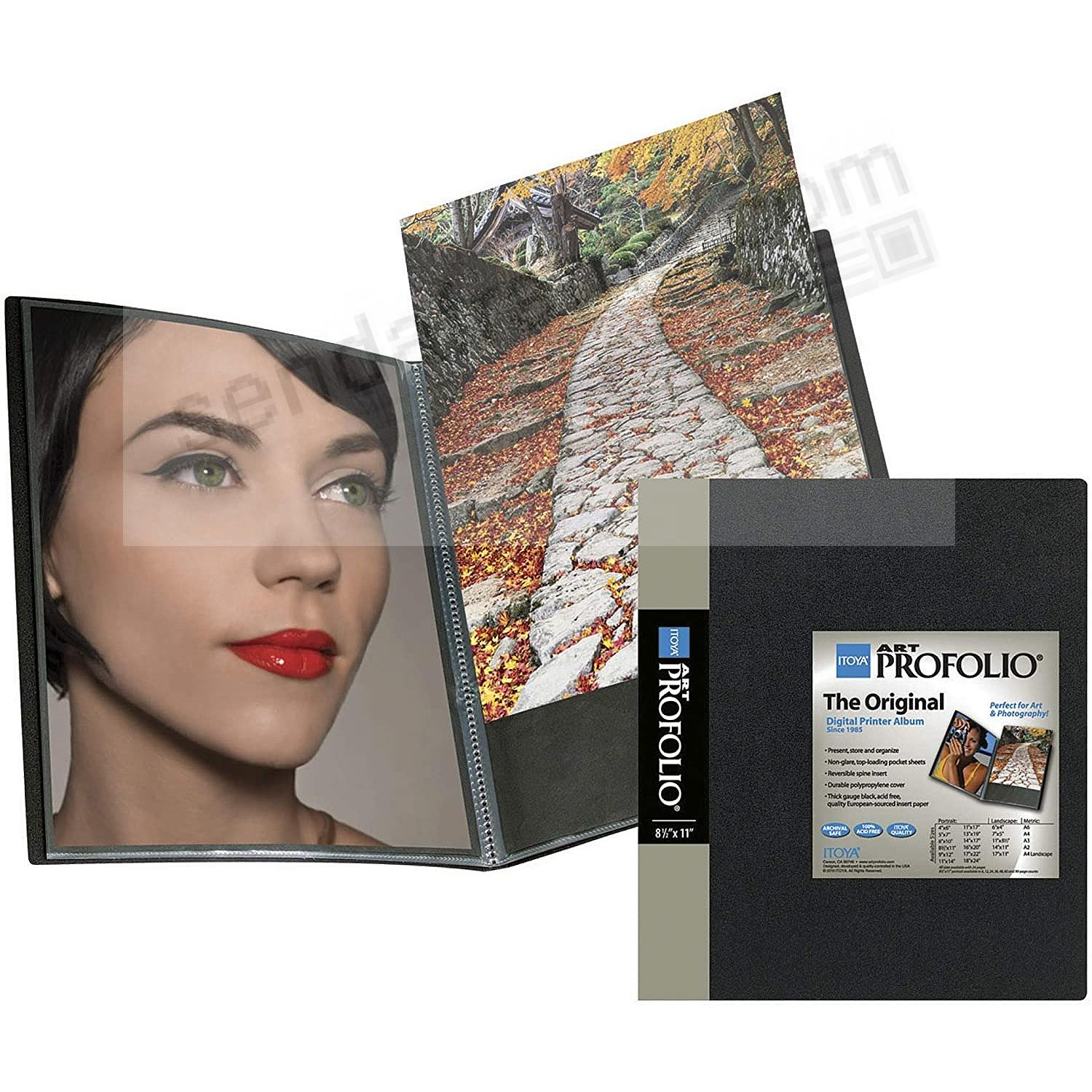 The Original PROFOLIO CLASSIC 8½x11 Art + Photo Album for 48 prints/24 pages by Itoya®