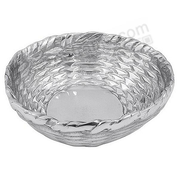 The Original BASKETWEAVE CONDIMENT 5in BOWL by Mariposa®