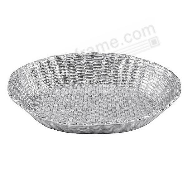 The Original BASKETWEAVE BREAD BASKET by Mariposa®