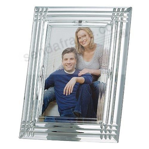 The REFLECTIONS Crystal frame by Galway® for Belleek® of Ireland