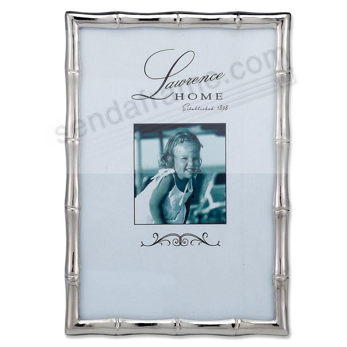 Silverplate BAMBOO 4x6 by Lawrence®