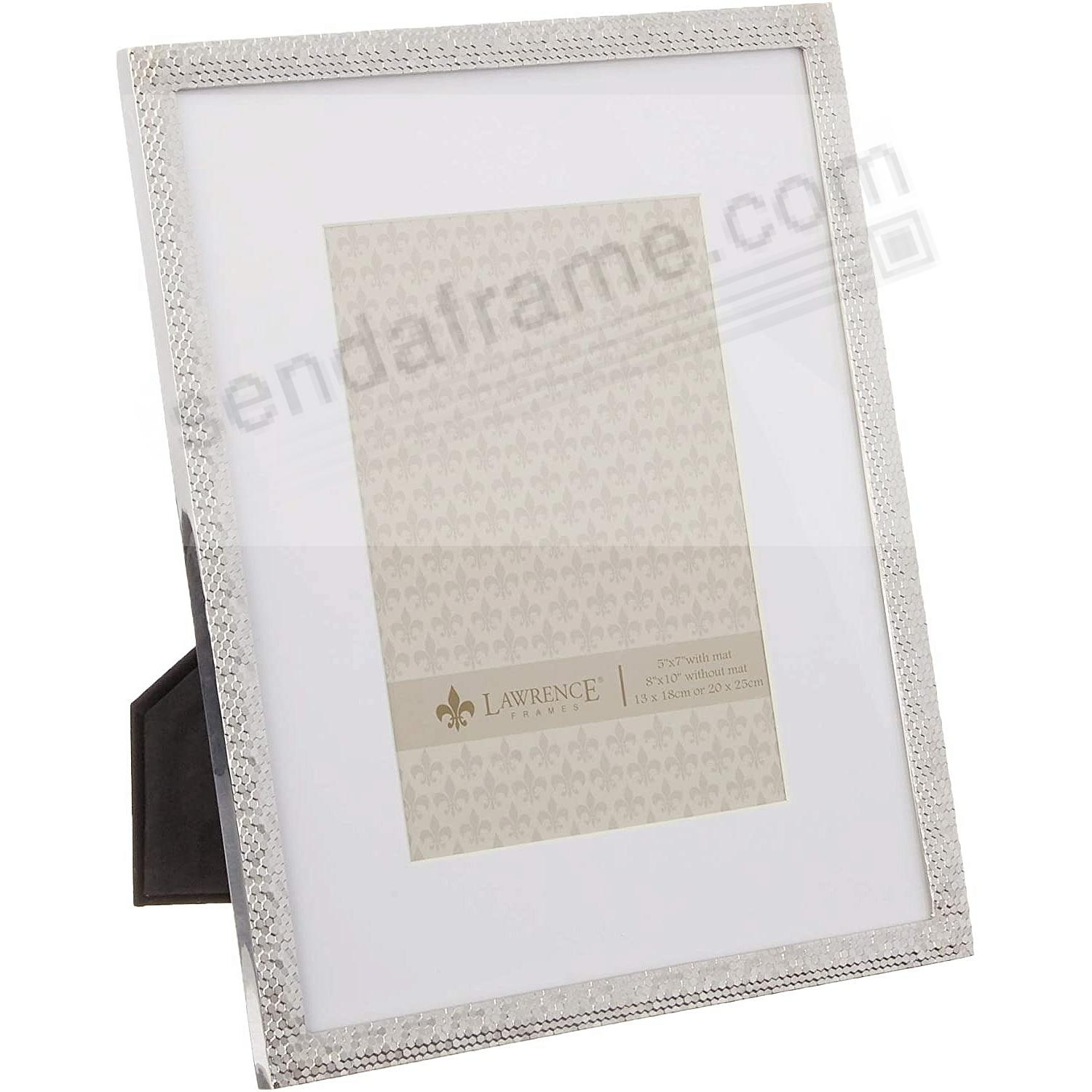 Silverplate SHIMMER 8x10/5x7 by Lawrence®