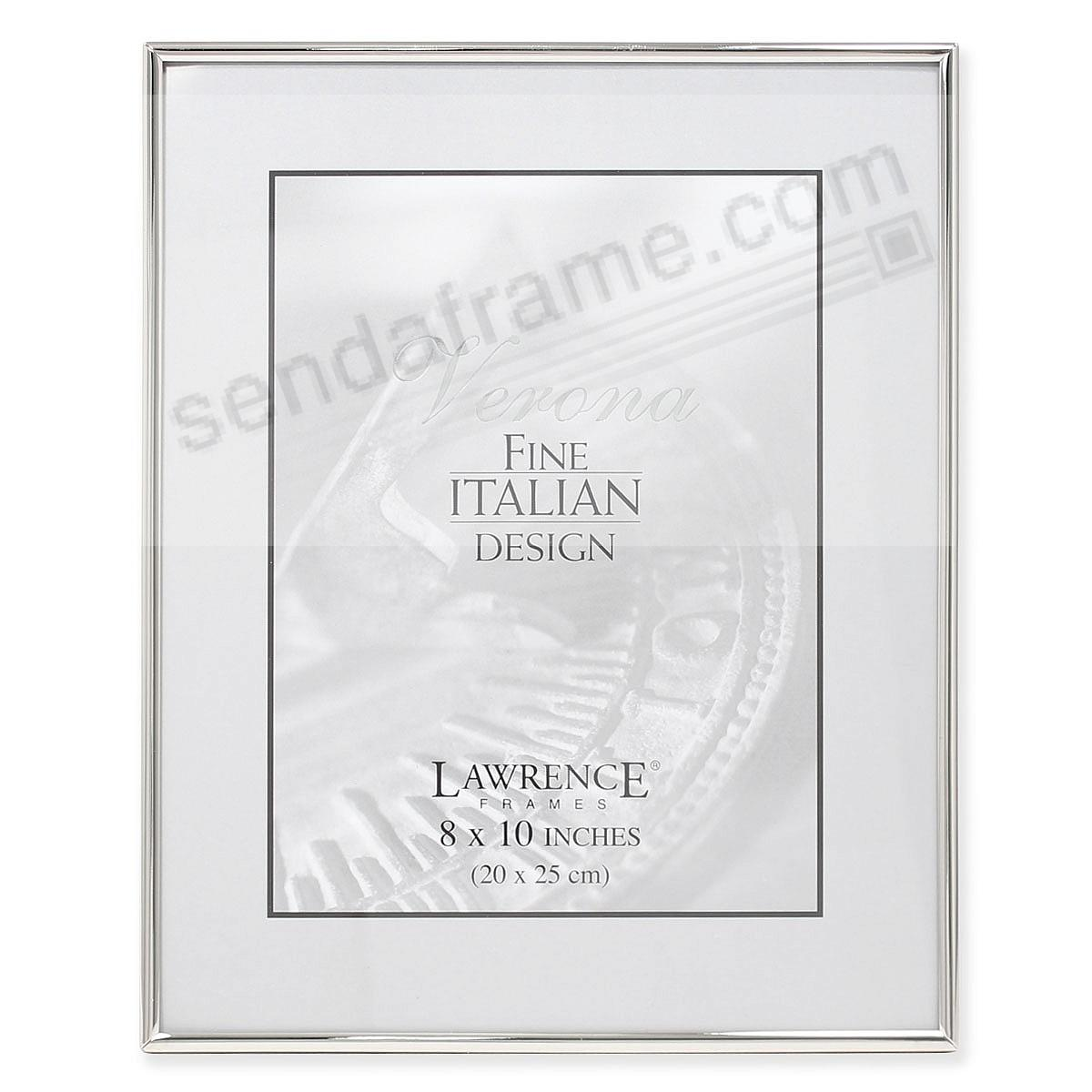 Lawrence® Polished SIMPLY SILVER 8x10 frame