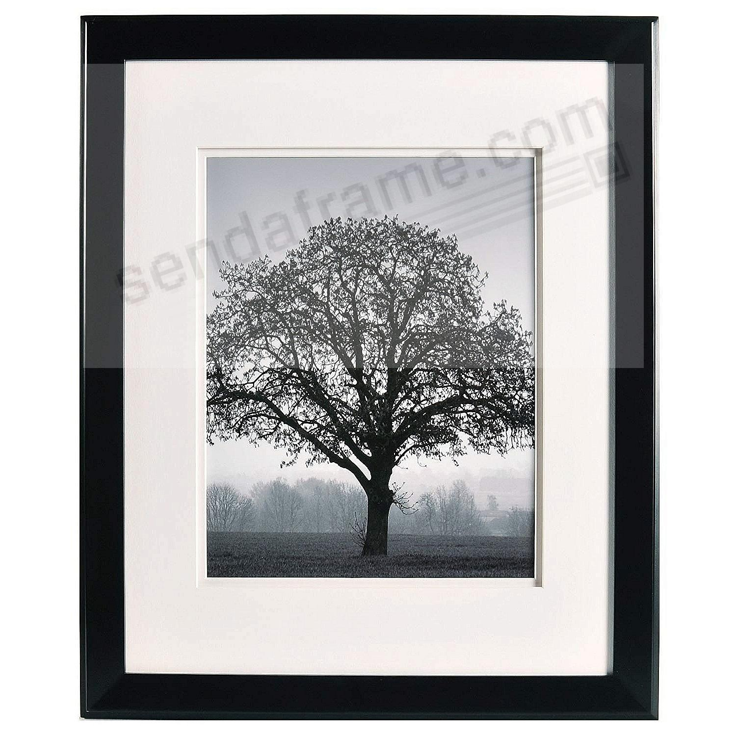 CHELSEA Dbl-Matted Black Wood frame 16x20/11x14 from ARTCARE® by Nielsen®