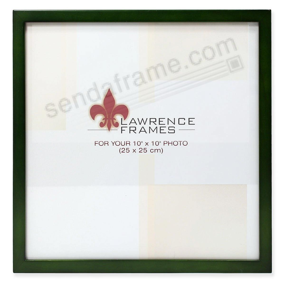 SQUARE CORNER Green Stain classic 10x10 frame by Lawrence Frames®