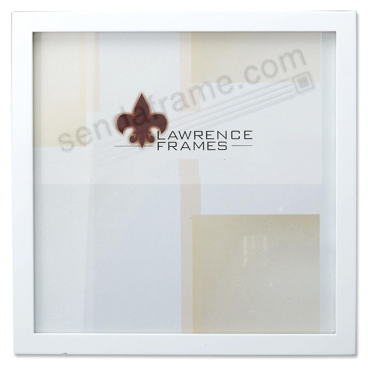 White square-corner 12x12 frame by Lawrence®