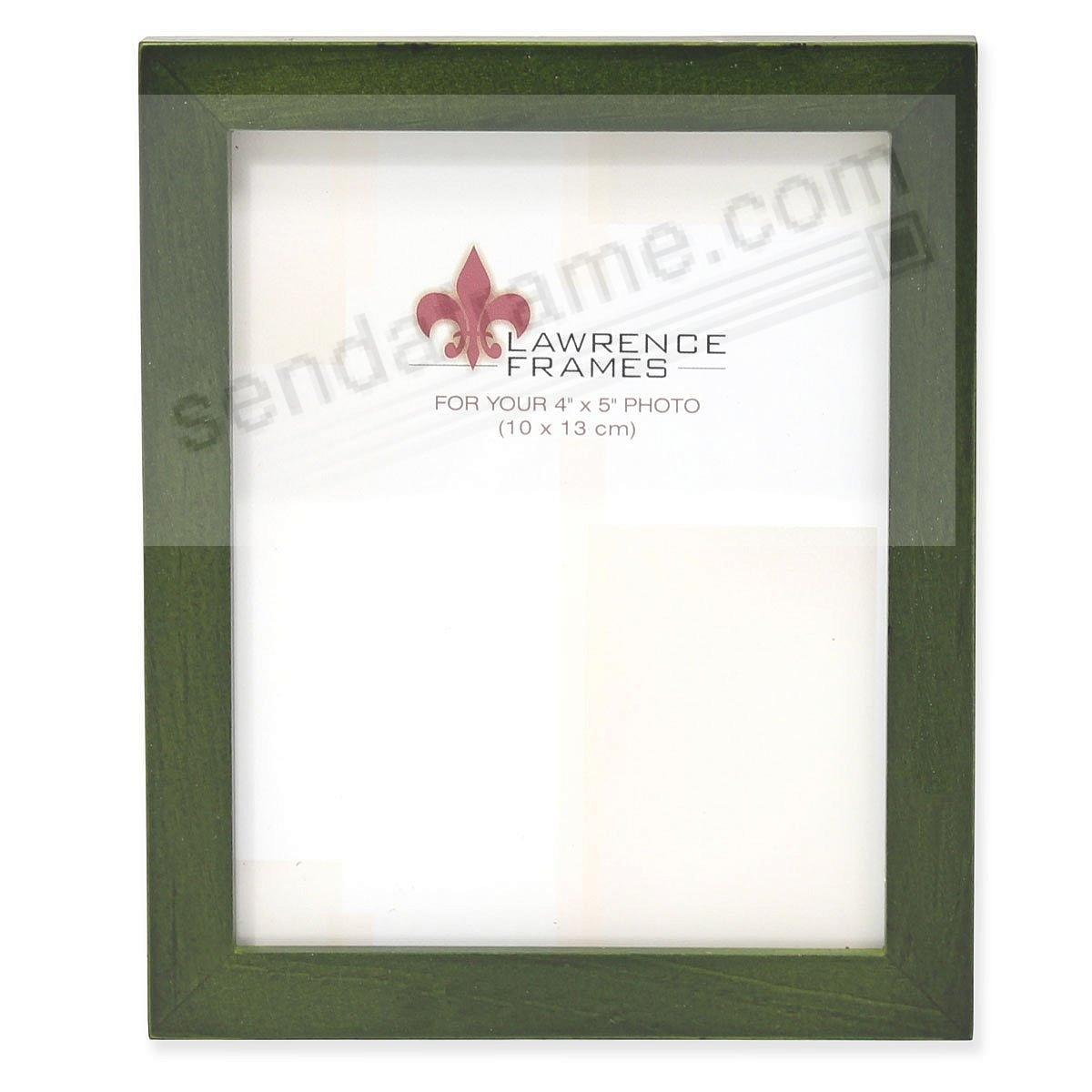 SQUARE CORNER Green Stain classic 4x5 frame by Lawrence Frames®