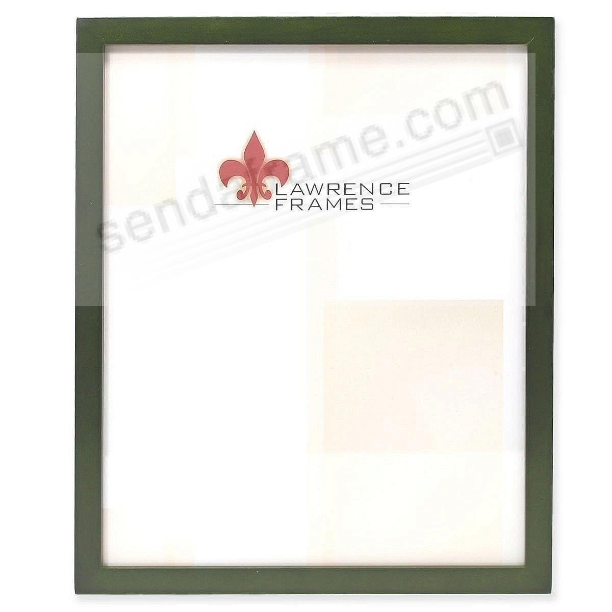 SQUARE CORNER Green Stain classic 5x7 frame by Lawrence Frames®
