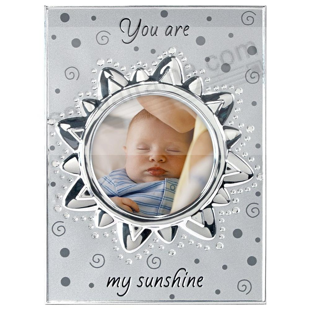 YOU ARE MY SUNSHIN frame by Malden®