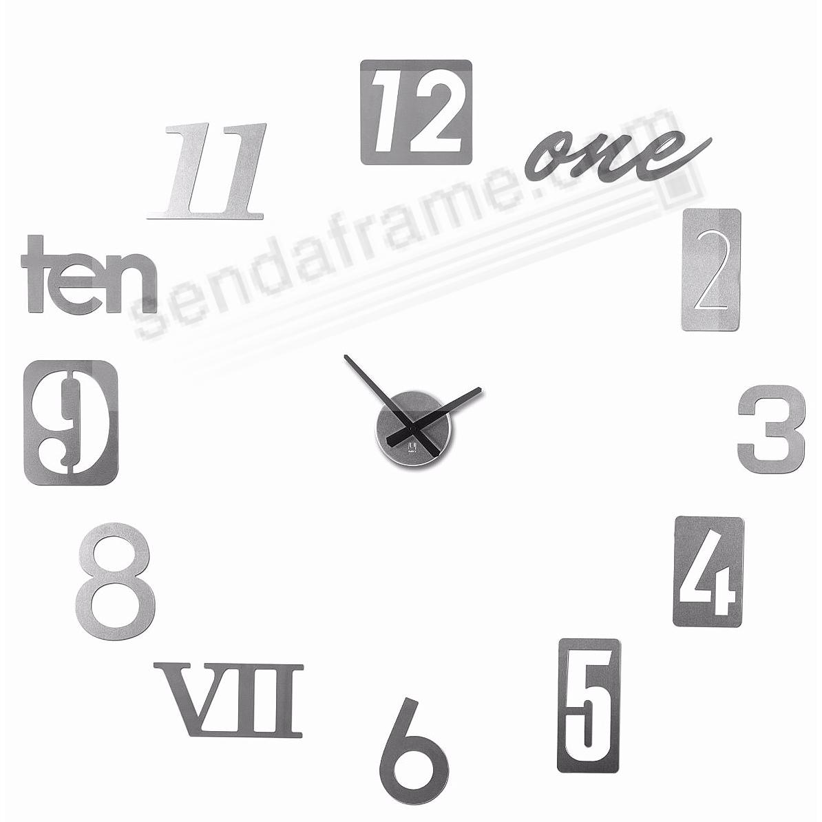 The original NUMBRA WALL CLOCK by Umbra®