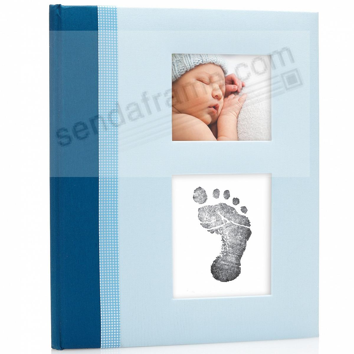 Blue CLASSIC Baby Book by Babyprints®