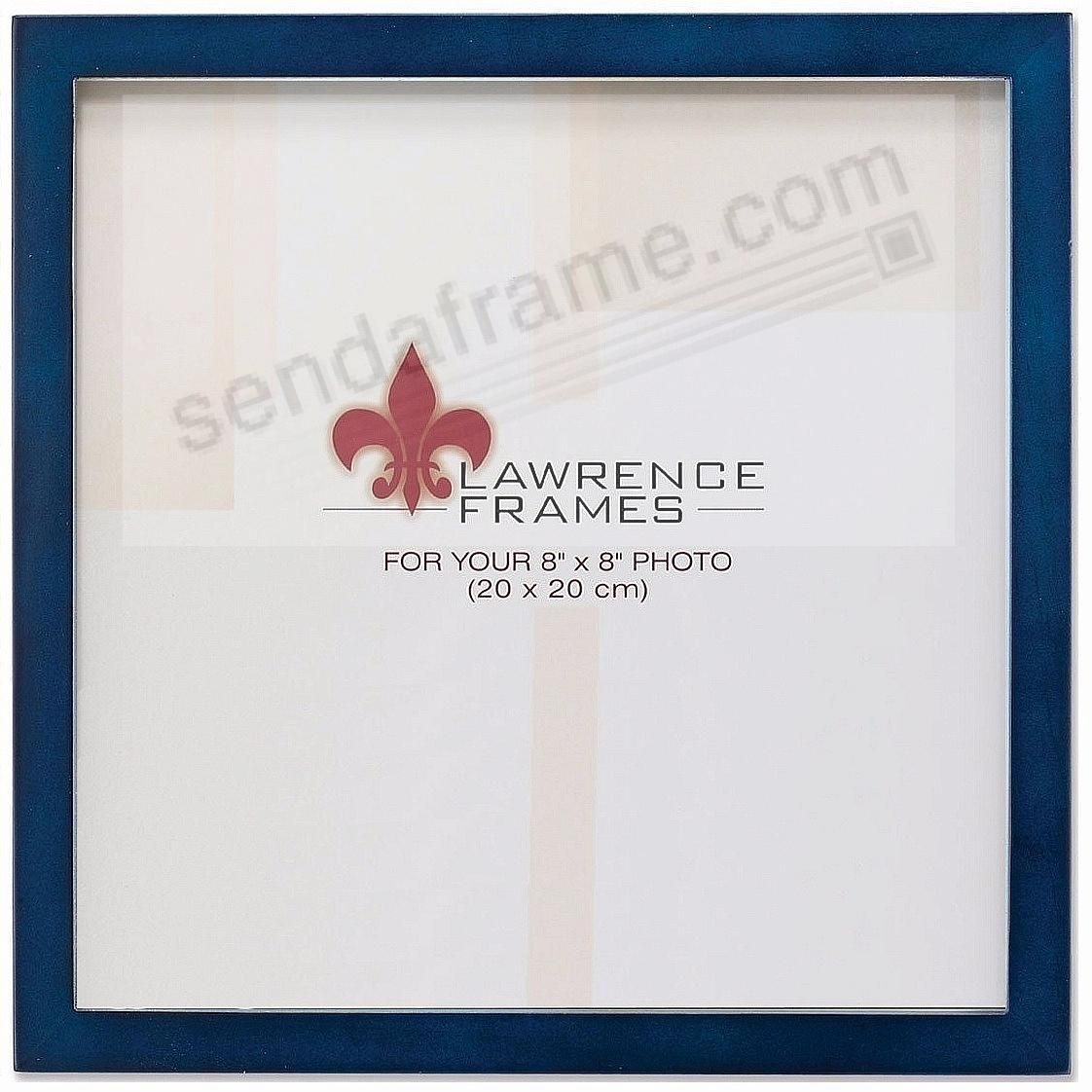 BLUE Square-Corner 8x8 frame by Lawrence®