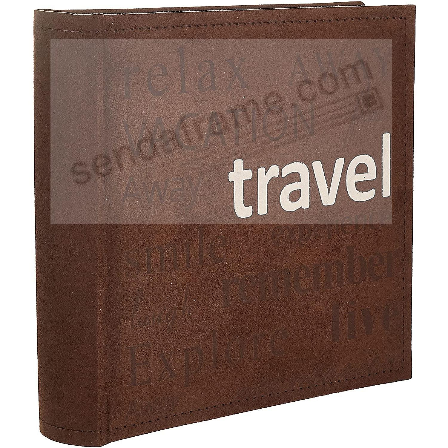 TRAVEL Words Design Album by Pioneer® holds 200 photos