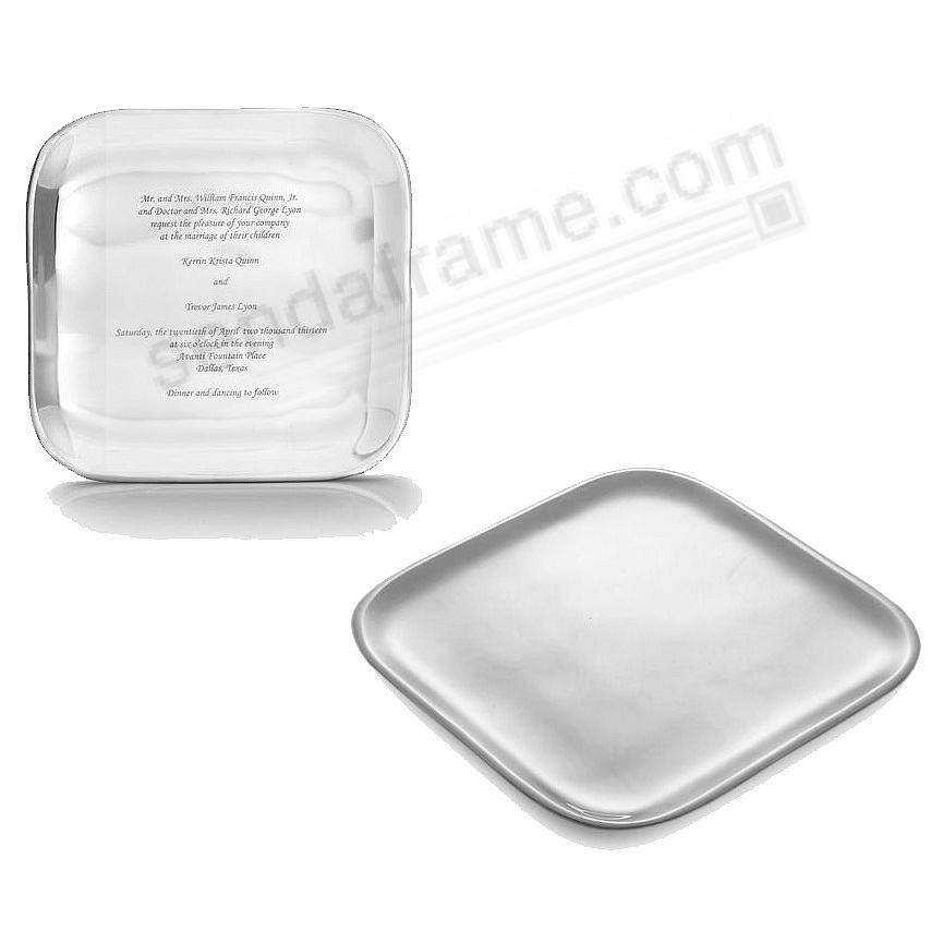 The Original Museum 9-in SQUARE PLATTER by Nambe®