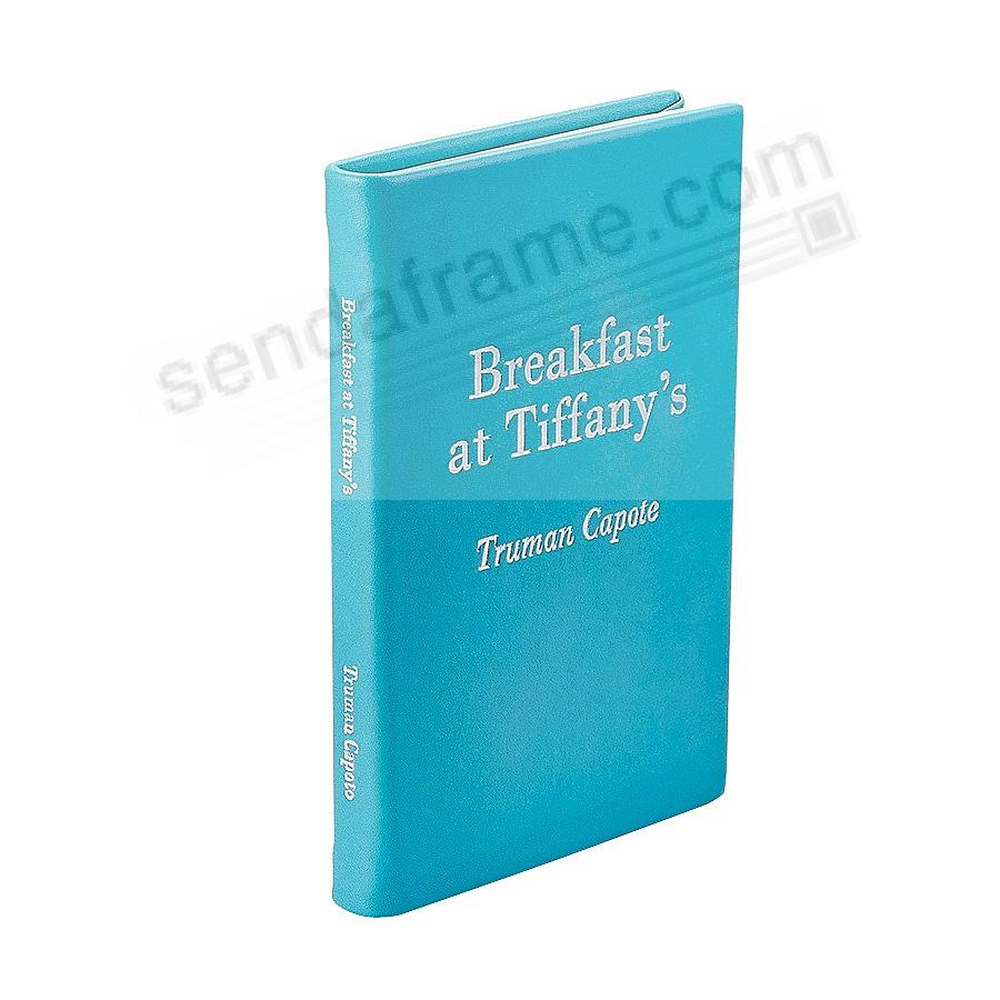 BREAKFAST AT TIFFANY'S<br>by Truman Capote special edition in French Calfskin Mint Leather
