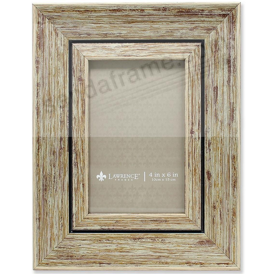 Weathered/Antique Natural Angled Wood 4x6 Frame by Lawrence®