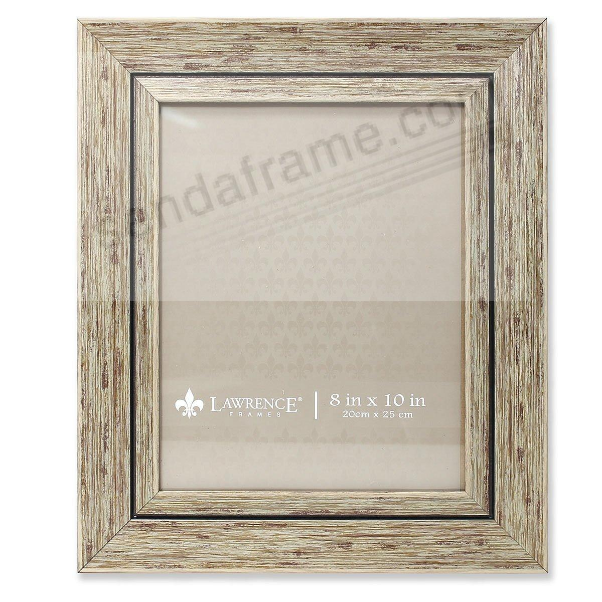 Weathered/Antique Natural Angled Wood 8x10 Frame by Lawrence®