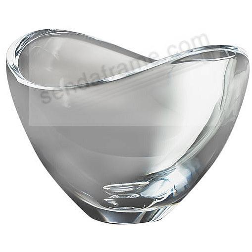 Crystal BUTTERFLY BOWL 7½-inch crafted by Nambe®