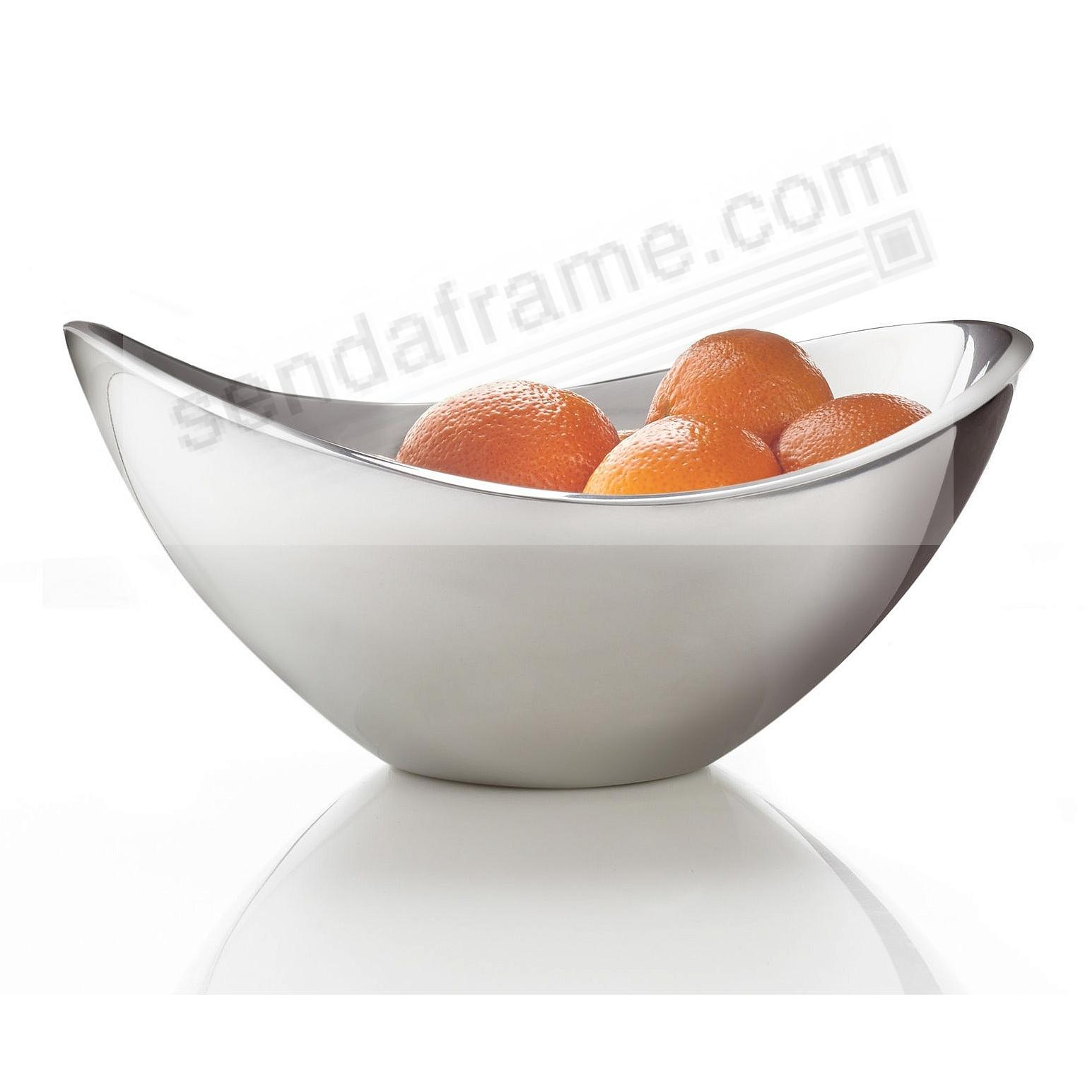 The Original BUTTERFLY 9-inch/1-qt BOWL crafted by Nambe®