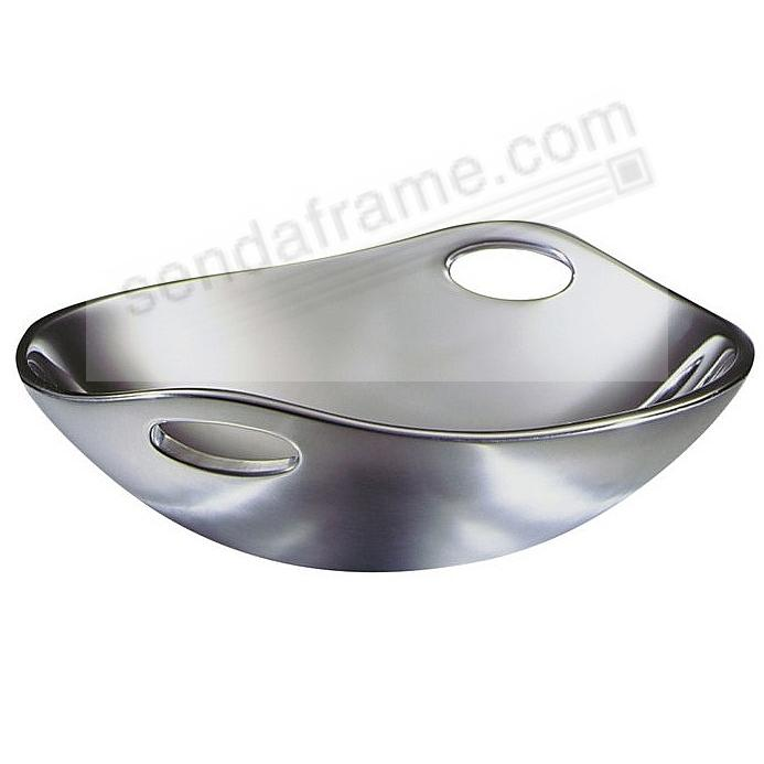The Original HANDLED 10inch BOWL crafted by Nambe®