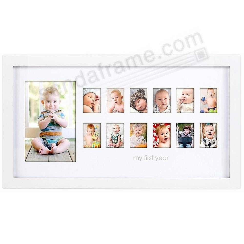 Babyprints® MEMORIES OF ME White Keepsake Collage