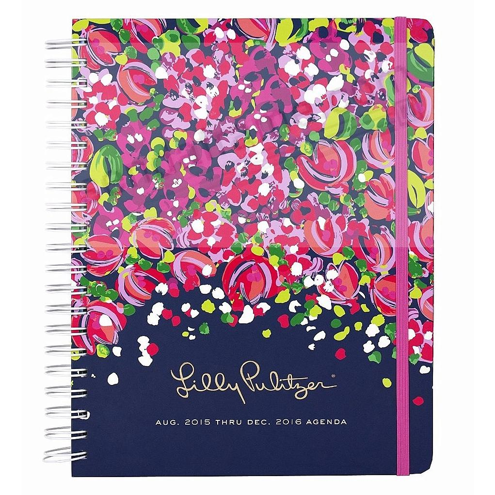 17 Month Jumbo Agenda WILD CONFETTI by Lilly Pulitzer®
