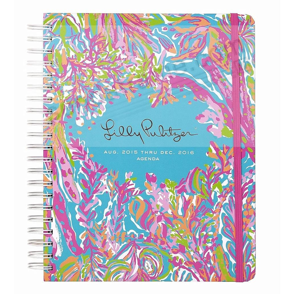 17 Month Jumbo Agenda SCUBA TO CUBA by Lilly Pulitzer®