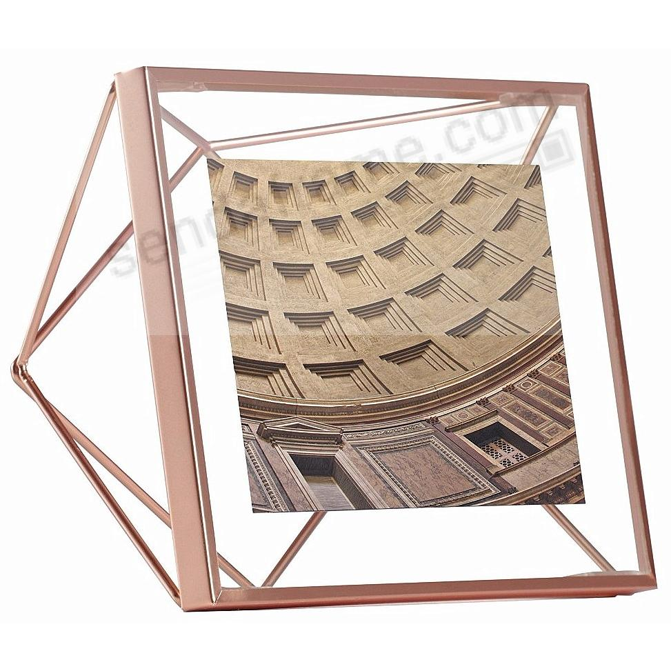 The Original PRISMA Photo Display Copper 4x4 frame by Umbra®