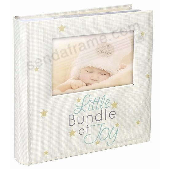BUNDLE OF JOY brag-book photo album 2-up display by Malden®